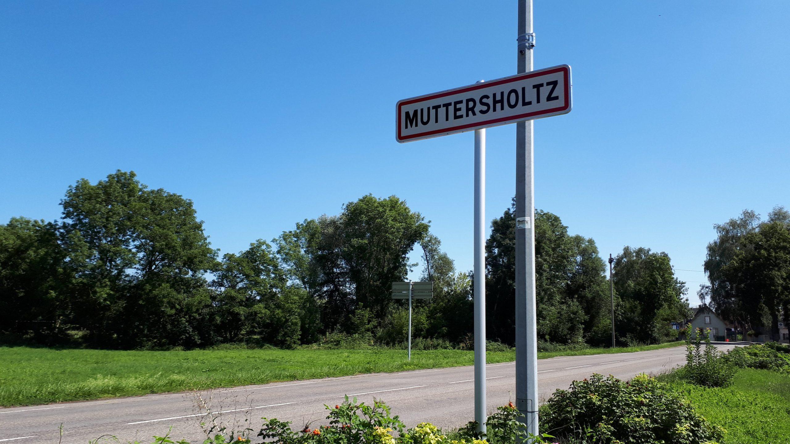 L'entrée du village côté Ehnwihr